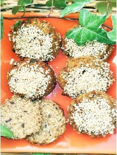 Sesambrötchen ohne Getreidemehl