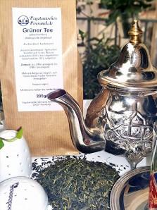 grüner Tee unfermentiert