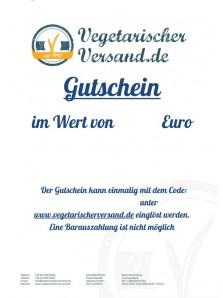 Geschenk Gutschein
