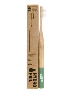 Bambus Zahnbürste grün