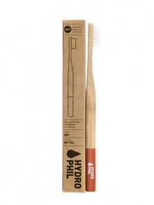 bambus zahnbürste rot
