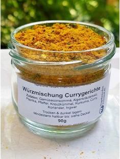 Gewürzmischung Currygerichte