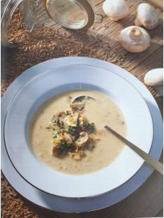 Grünkern-Chamignon Suppe