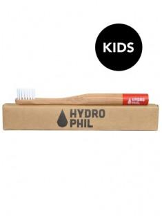 Bambus Zahnbürste Kids rot