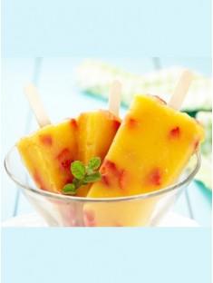 Mango-Joghurt-Sahne-Eis