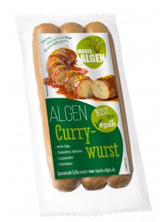 Remis Curry Algenwurst verpackt