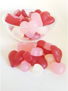 Süße Herzen vegan