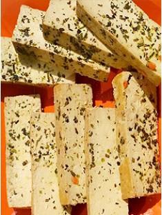 geräucherter Tofu mariniert